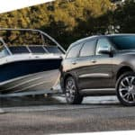 2019 Dodge Durango Towing Boat Out of Water