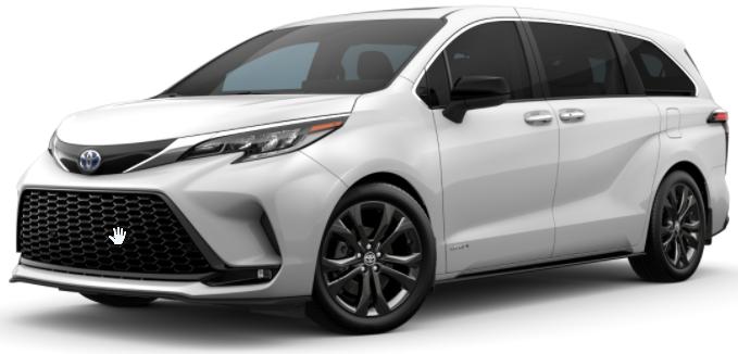 Nuevo 2021 Toyota Sienna LE 8-Passenger FW Hybrid