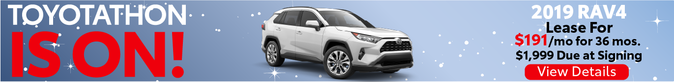 Toyotathon RAV4 Offer