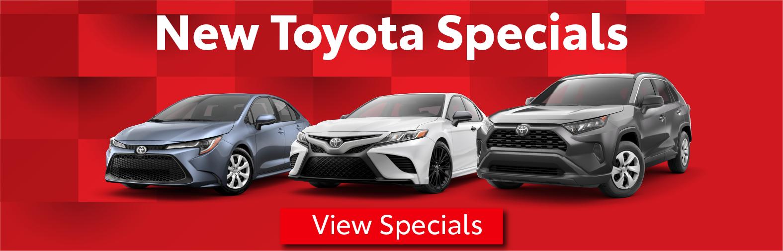 Schaumburg Toyota Specials