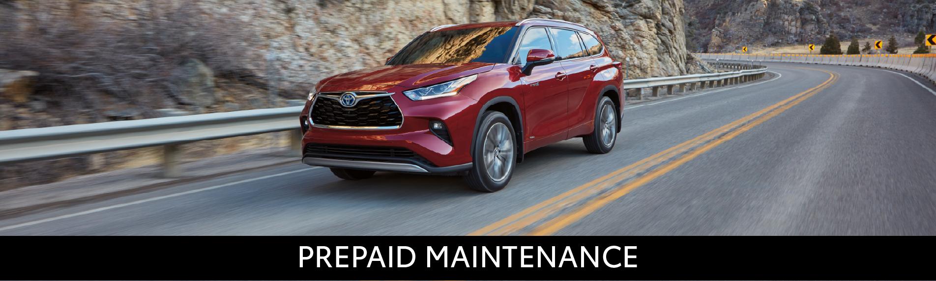 Midtown Toyota Pre paid maintenance