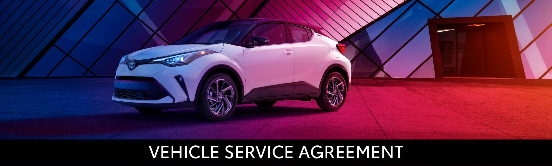 Midtown Toyota Vehicle Service Agreement