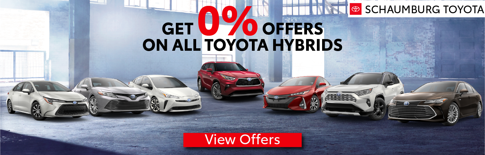 Schaumburg Toyota 0% offers on all 2020 Hybrid Vehicles