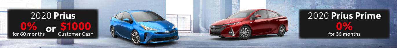 Schaumburg Toyota 0% offer on Prius and Prius Prime