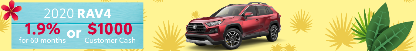 Schaumburg Toyota RAV4 APR and Cash Offer