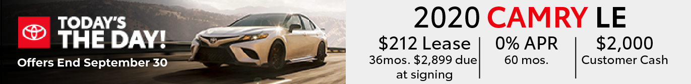 Schaumburg Toyota Camry Special Offers