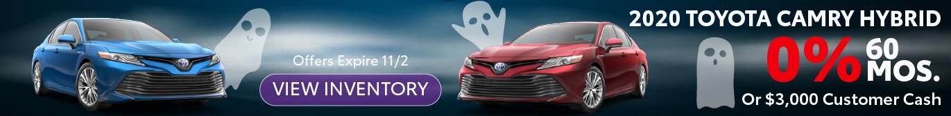 Schaumburg Toyota 2020 Camry Hybrid 0% APR