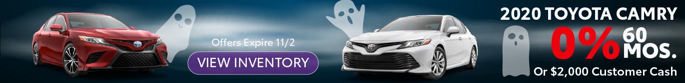Schaumburg Toyota 2020 Camry 0% APR