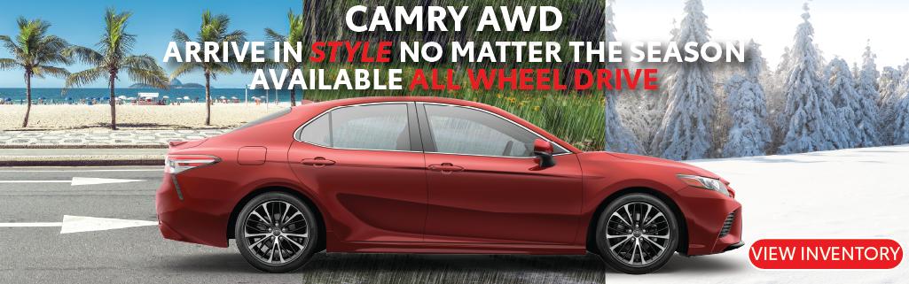 Schaumburg Toyota Camry AWD