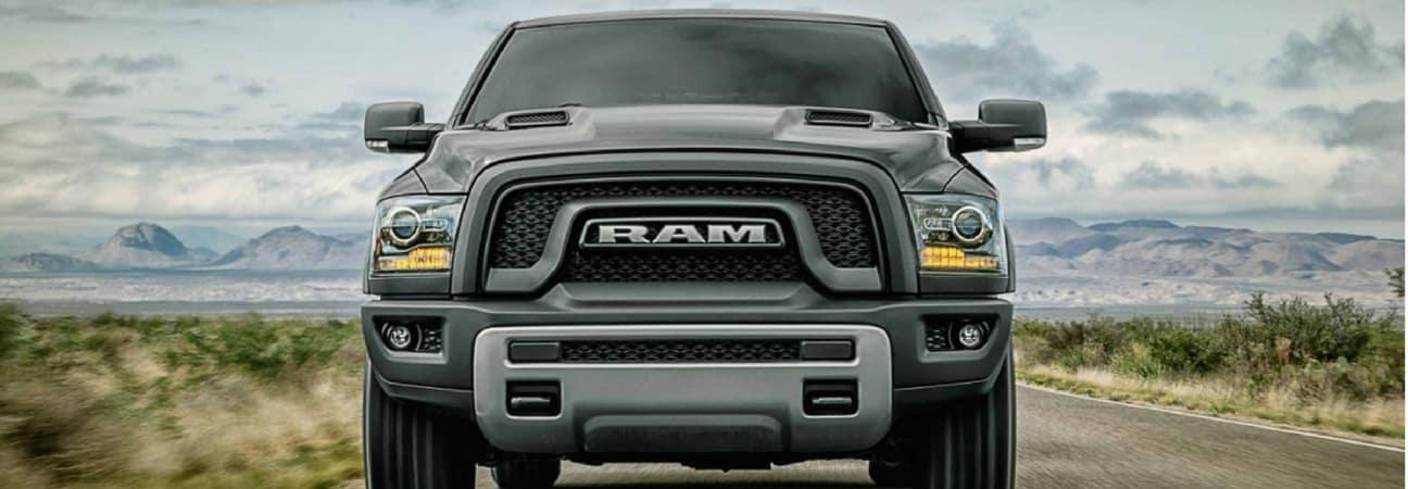 The 2018 RAM 1500.