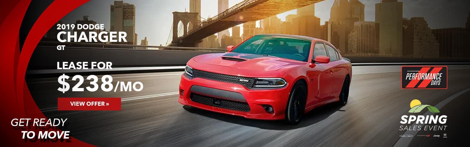 Dodge Charger April Lease offer