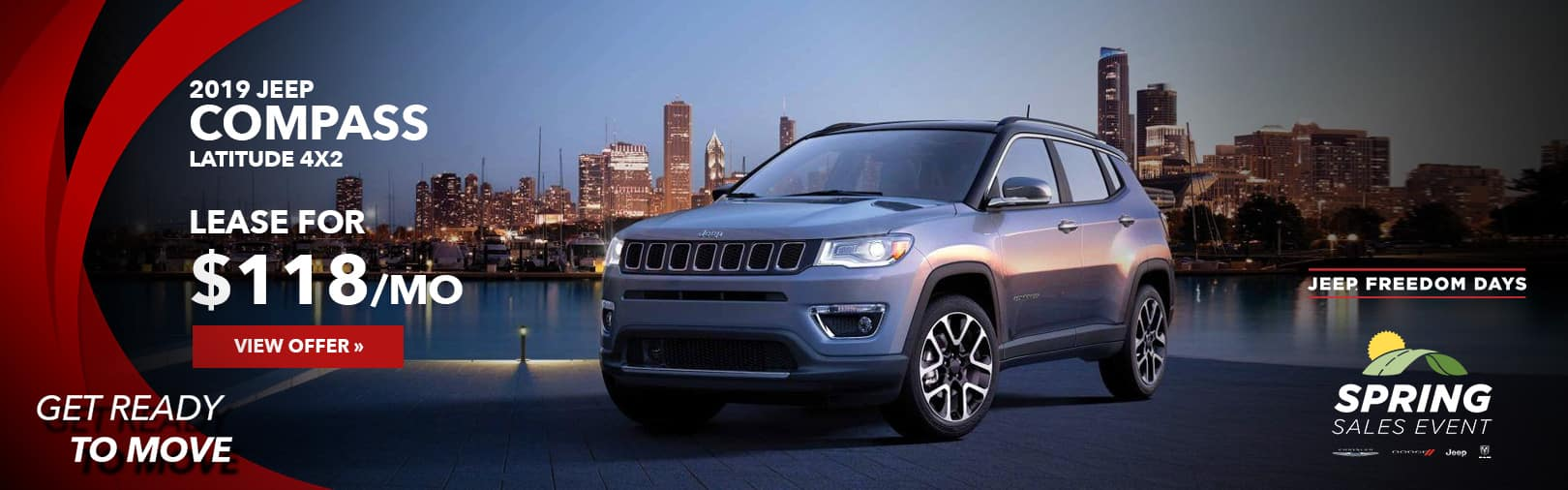 Jeep Compass April Lease Offer