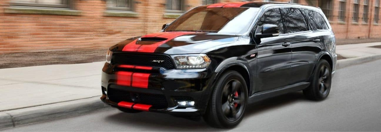 2019 Dodge Durango driving down the road