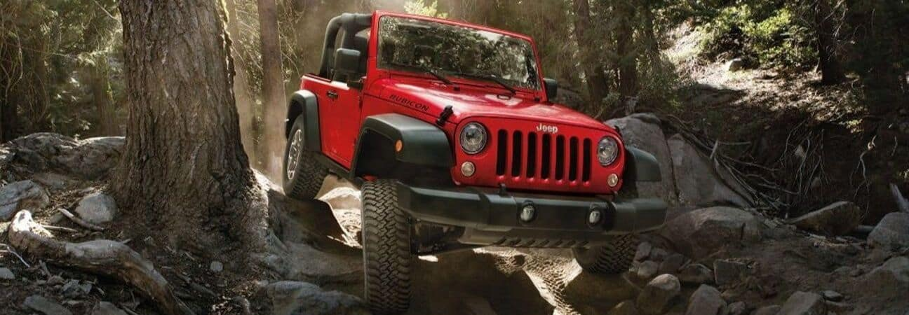 Trail Rated Jeep