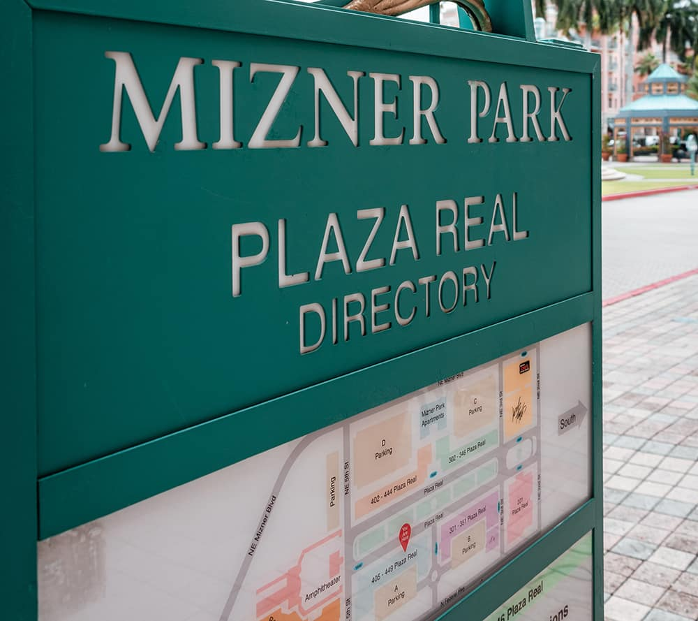 Mizner Park Palm Beach Gradens Florida