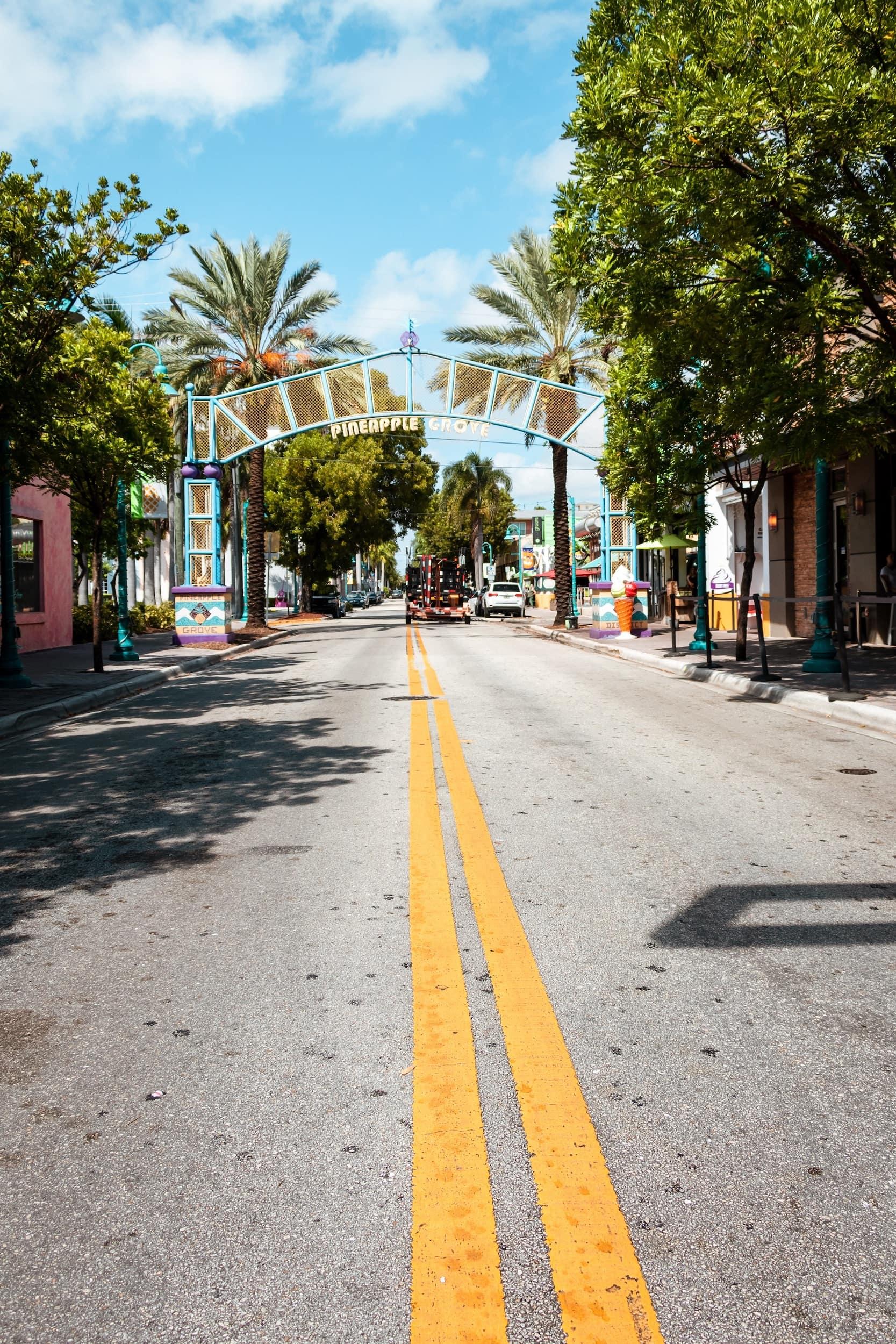 Mizner Park Boynton Beach Florida