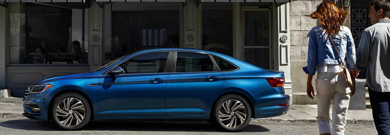 2019 Volkswagen Jetta parked on the street