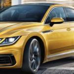 2019 Volkswagen Arteon turning city corner