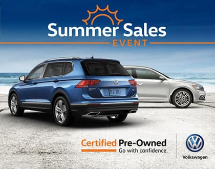 Purchase a Certified Pre-Owned Volkswagen