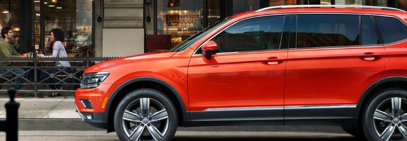 2018 VW Tiguan in blog post about Volkswagen deals.