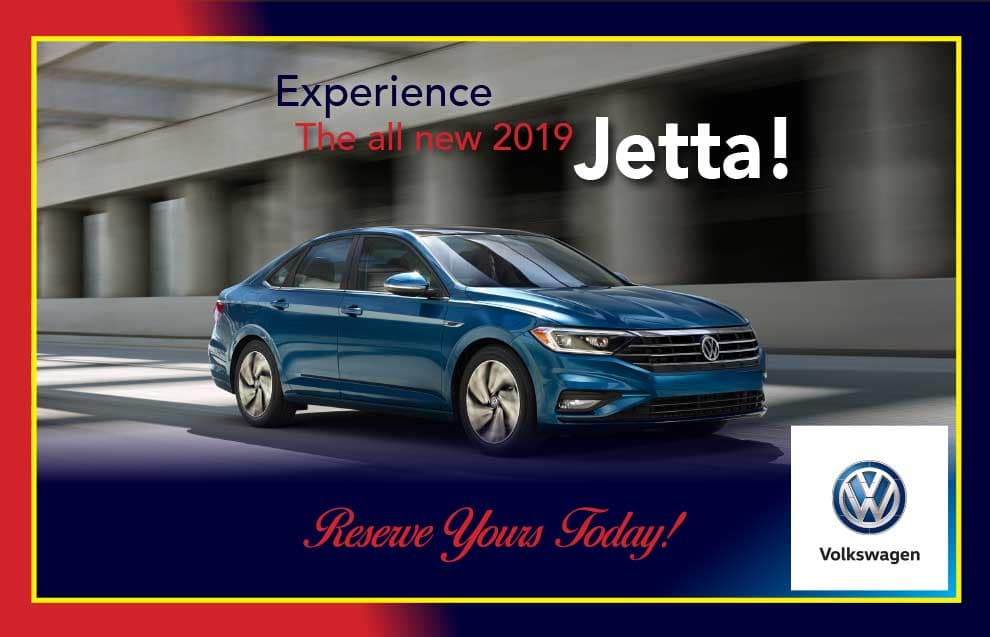 Reserve your New 2019 Jetta