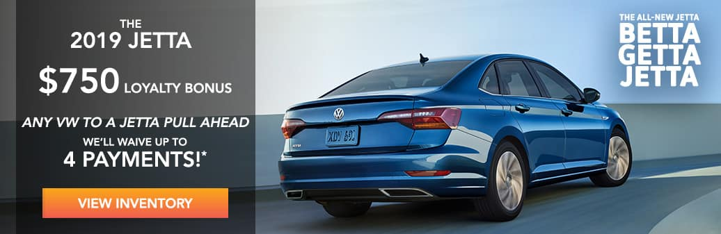 Jetta Lease Pull Ahead and Loyalty Bonus, West Palm Beach FL