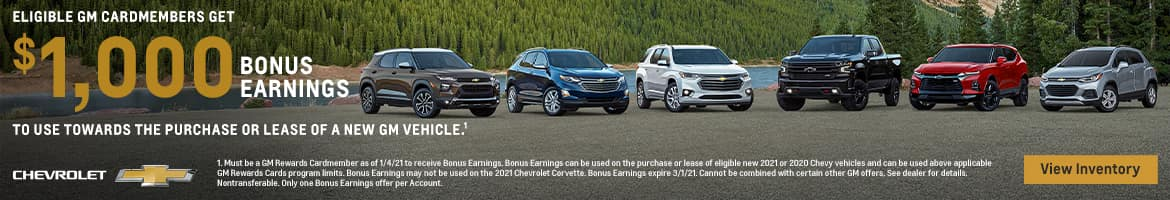 GM Bonus Earnings