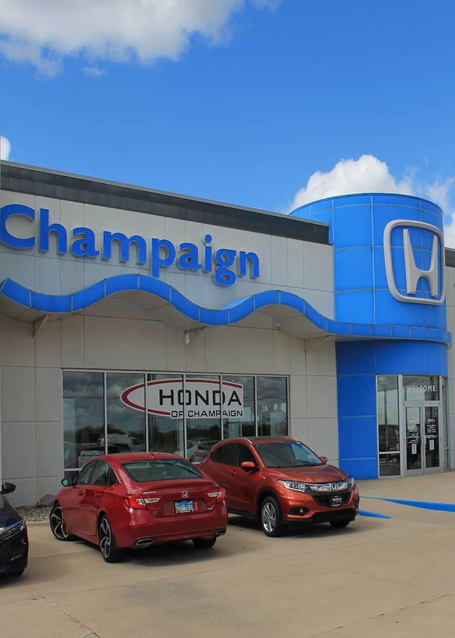 Serra Honda of Champaign Dealership Exterior