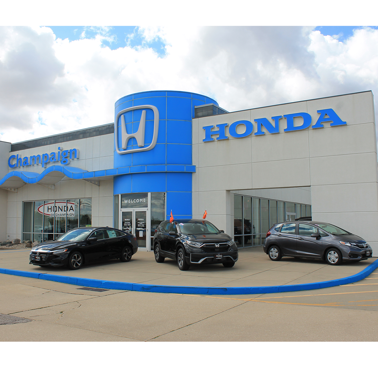 Serra Honda of Champaign Dealership Exterior
