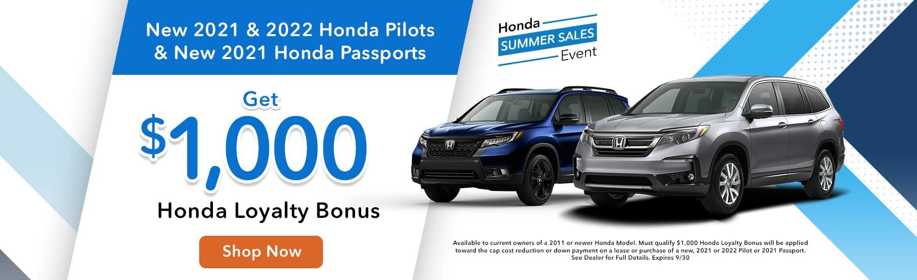 Honda Loyalty