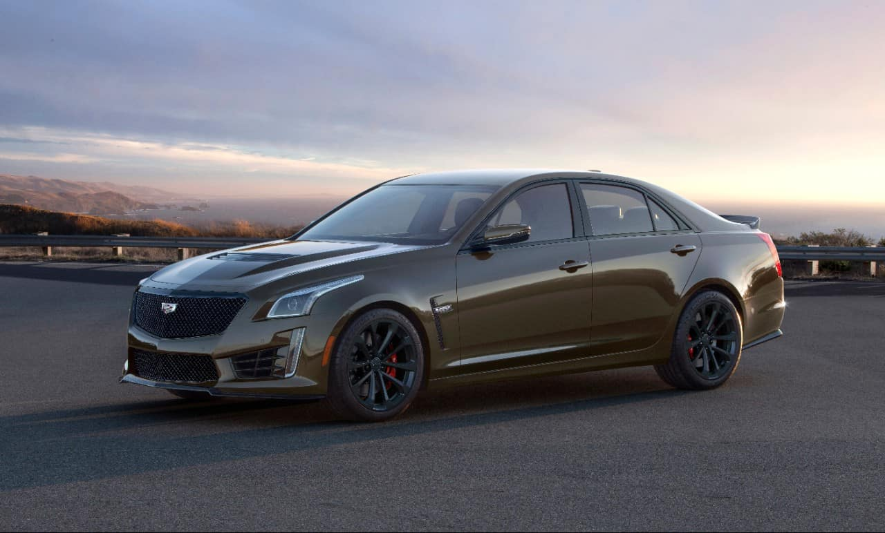 The exclusive 2019 Cadillac Pedestal Edition ATS-V Coupe