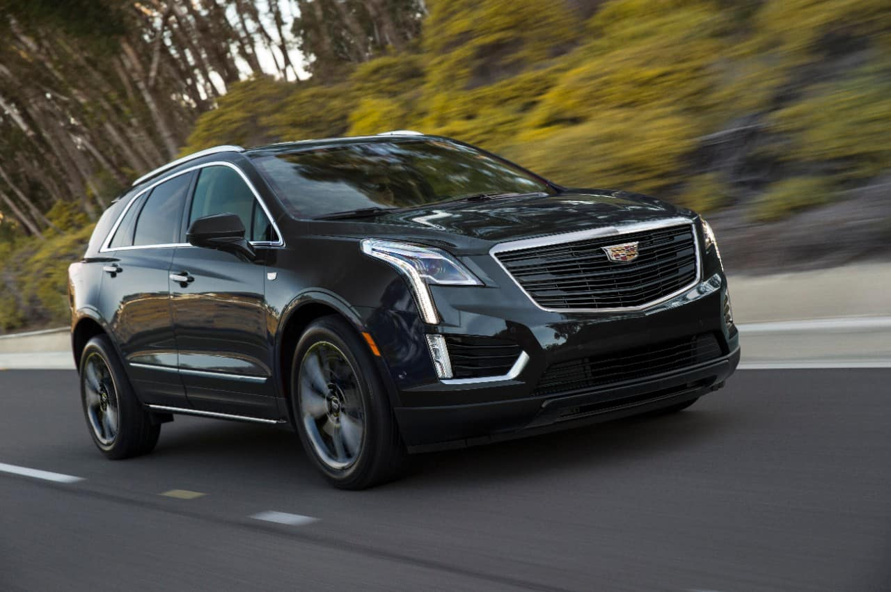 The 2019 Cadillac XT5 Sport package