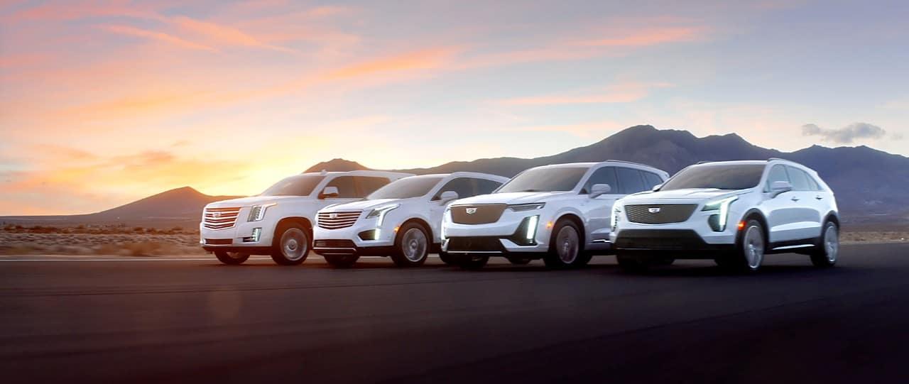Cadillac XT4, XT5, XT6 and Escalade