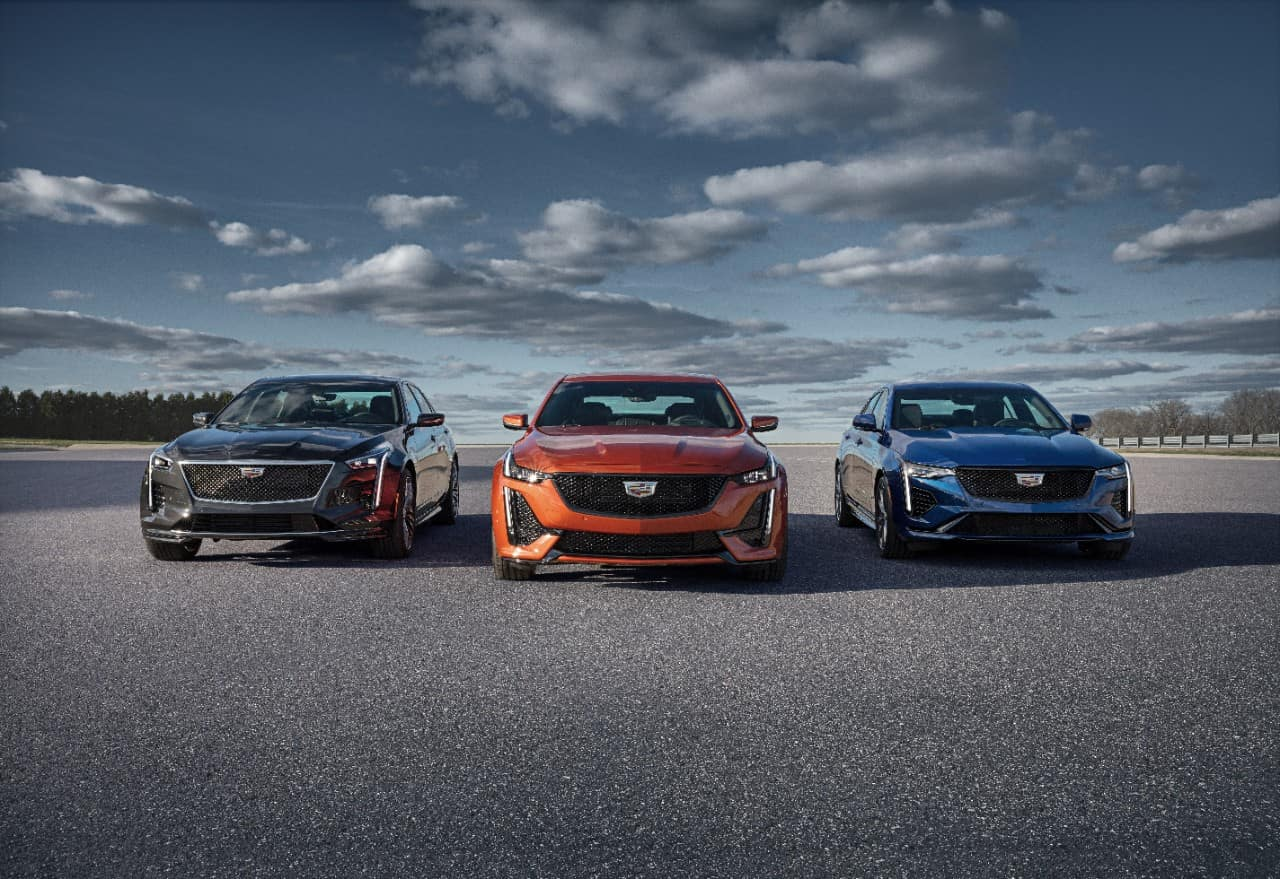 The first-ever 2020 CT4-V and CT5-V