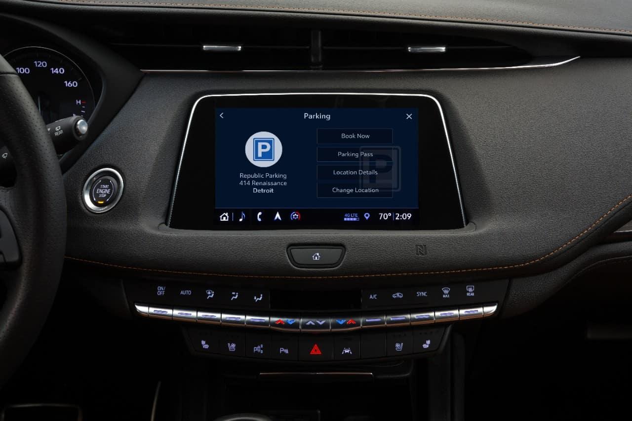 Cadillac Parking Assist