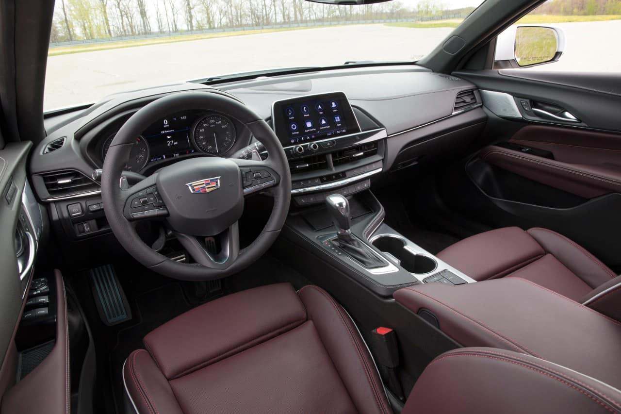 2020 Cadillac CT4 Interior