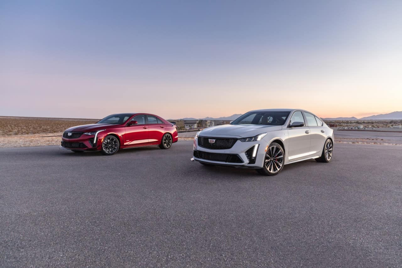 2022 Cadillac CT4-V & CT5-V