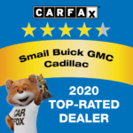 Cadillac Top-Rated Dealer Award