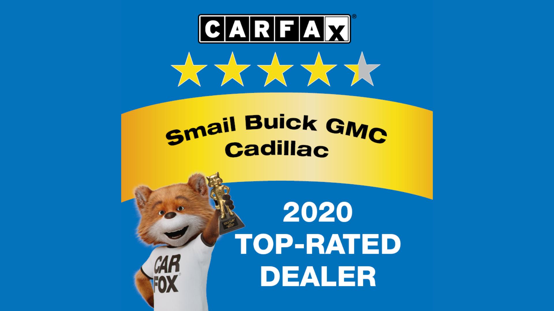 Cadillac Top-Rated Dealer Award