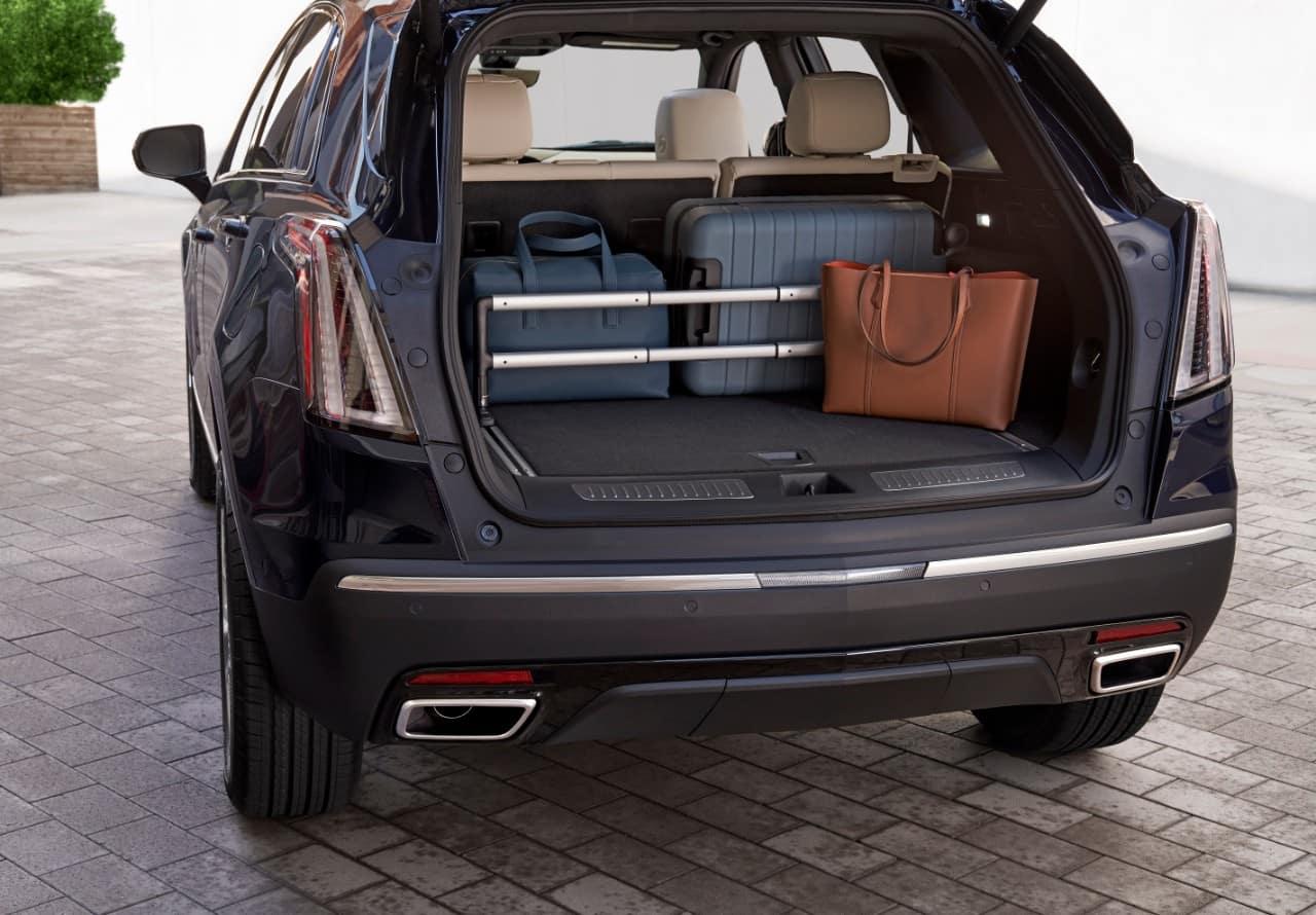 2021 Cadillac XT5 Rear Interior
