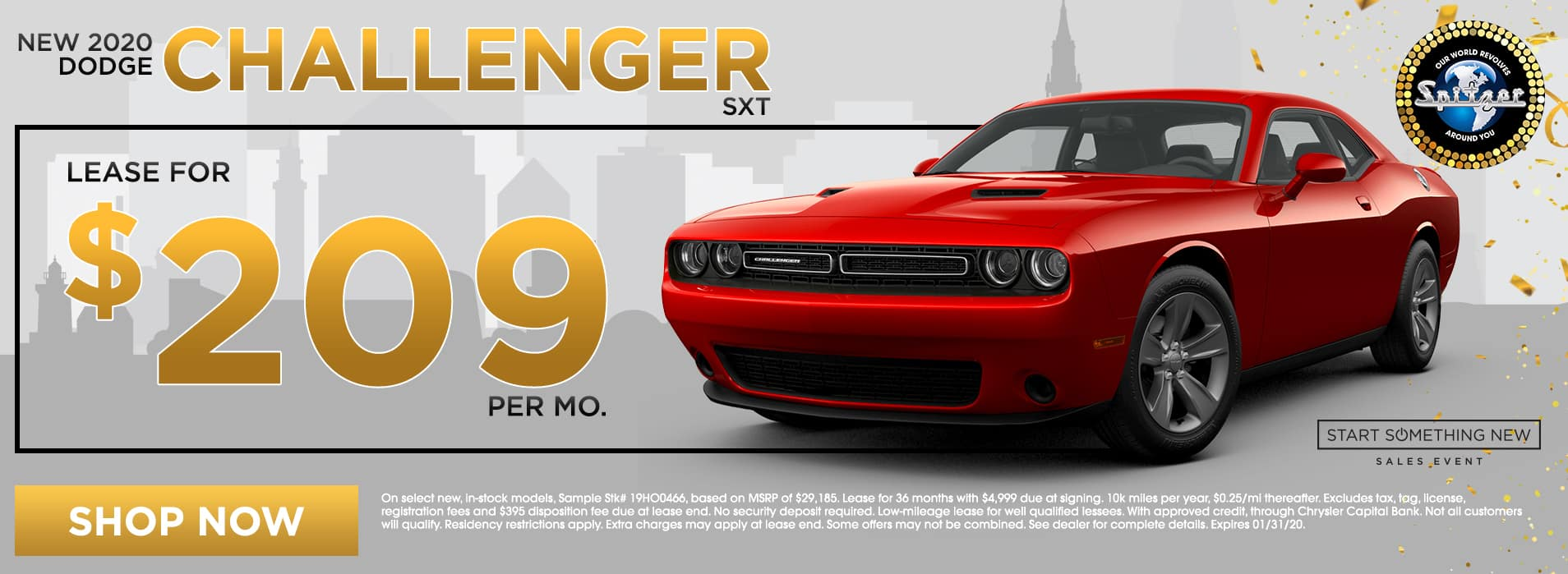 Challenger   Lease for $209 per mo