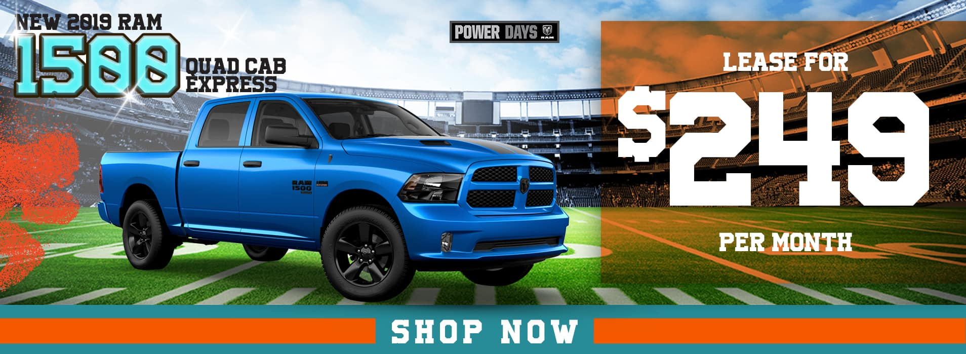 RAM 1500 | Lease for $249 per month