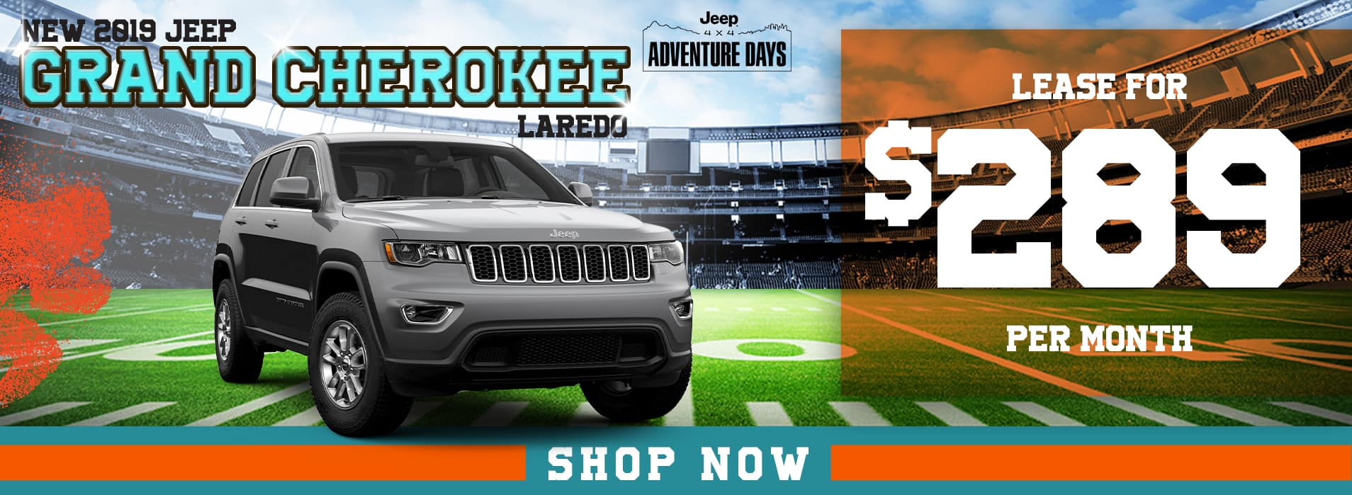Grand Cherokee | Lease $289 per month