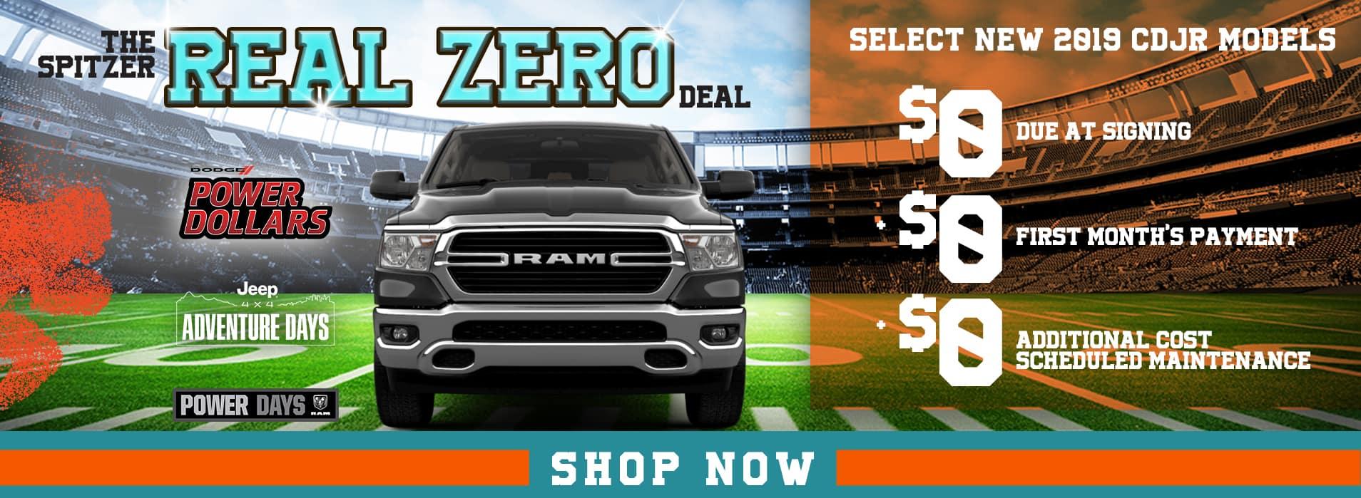 Real Zero Deal