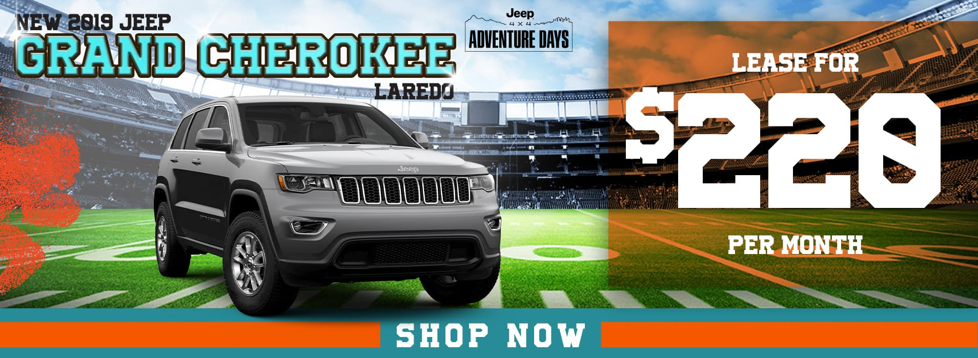 Grand Cherokee | Lease for $220 per mo