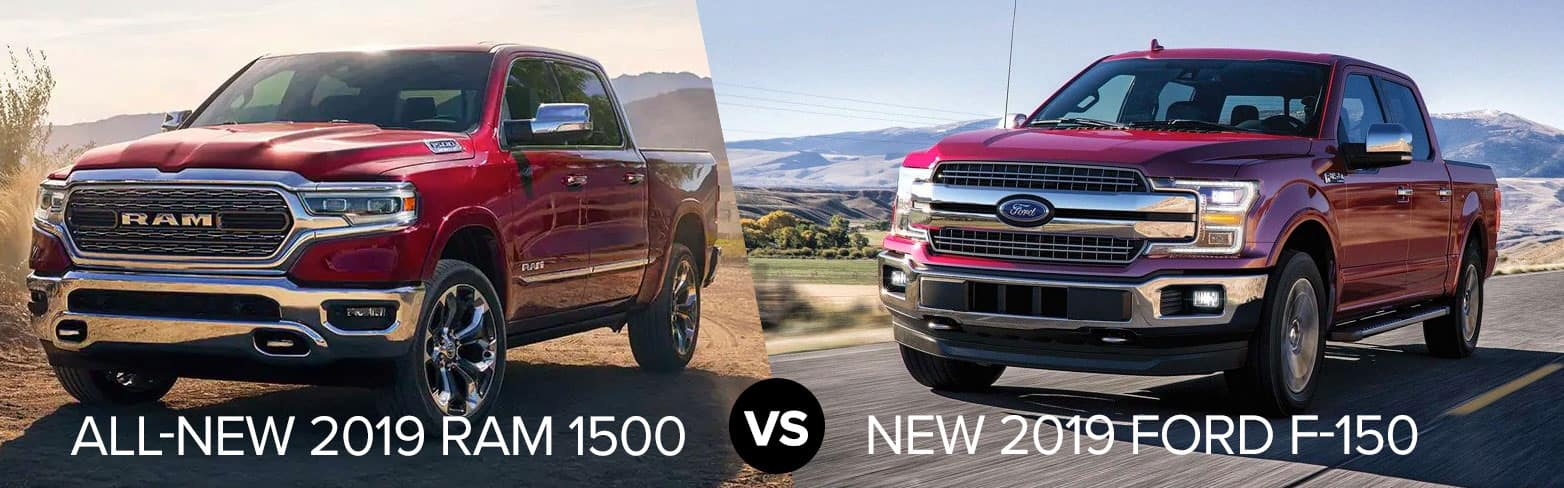 2019 Ram 1500 vs Ford F-150 Chicago IL