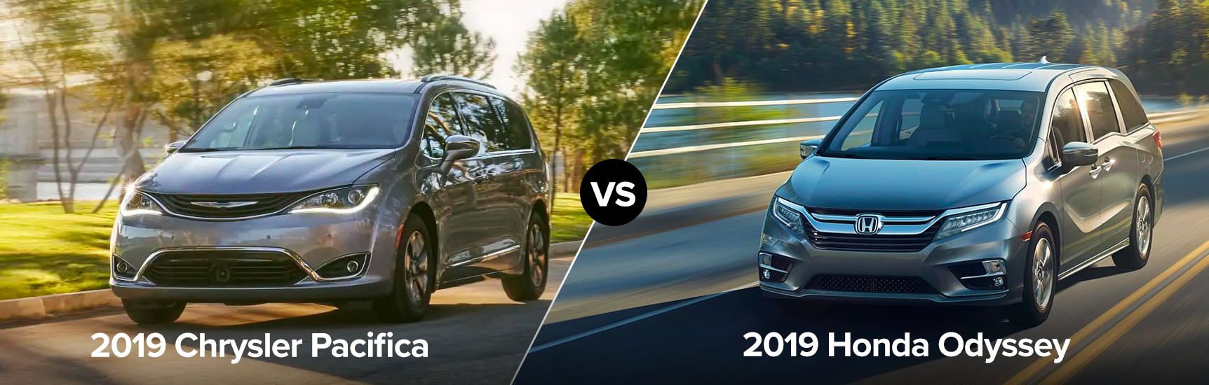 2019 Chrysler Pacifica vs Honda Odyssey Chicago IL