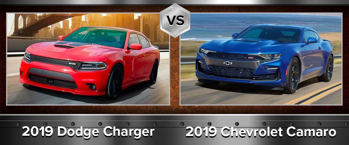 2019 Dodge Charger vs 2019 Chevrolet Camaro Review Chicago IL