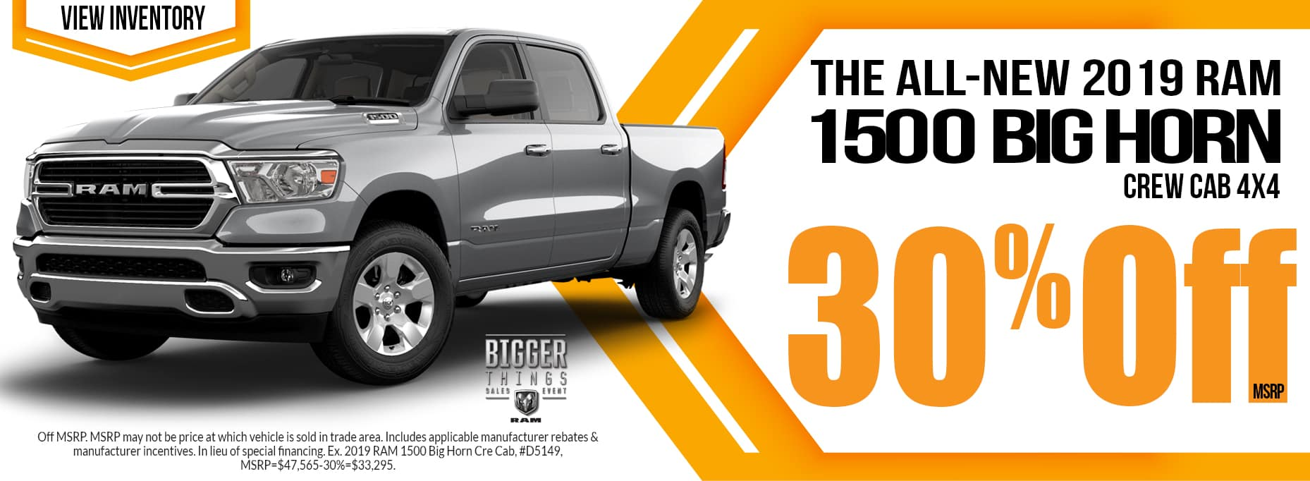 The All-New 2019 Ram 1500 Big Horn