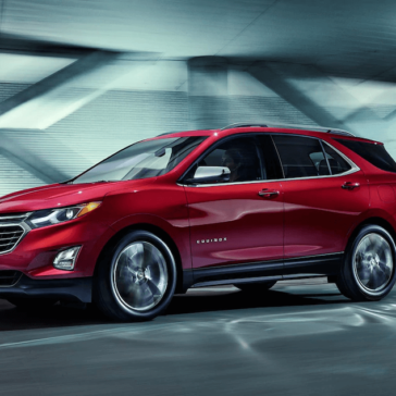 2018 Chevy Equinox Red